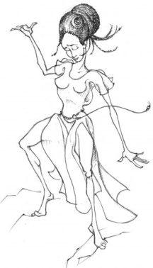 female protector-adj