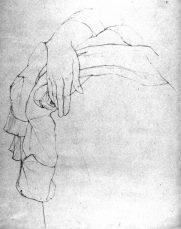 drape & hand